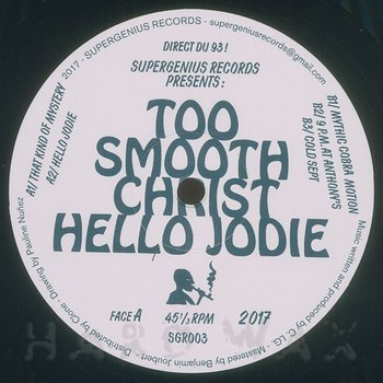 Cover art - Too Smooth Christ: Hello Jodie