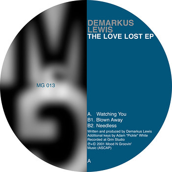 Cover art - Demarkus Lewis: The Love Lost EP