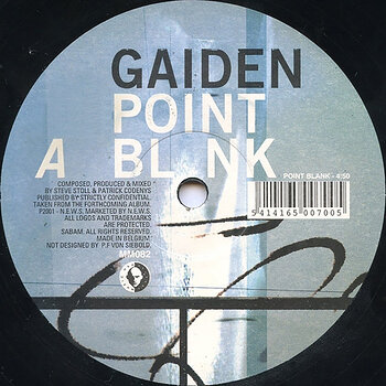 Cover art - Gaiden: Point Blank