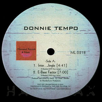 Cover art - Donnie Tempo: Inter…Jingle