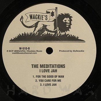 Cover art - The Meditations: I Love Jah
