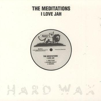 Cover art - The Meditations: I Love Jah