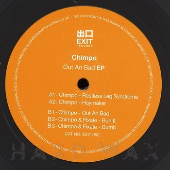 Cover art - Chimpo: Out An Bad EP