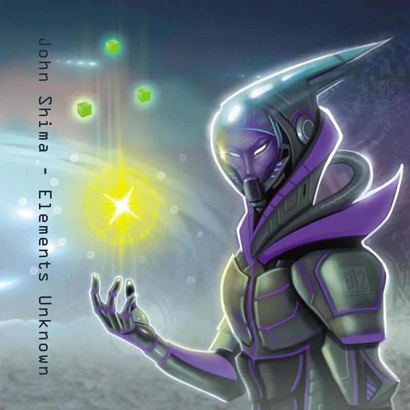 Cover art - John Shima: Elements Unknown