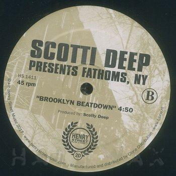 Cover art - Scotti Deep: Presents Fathoms, NY