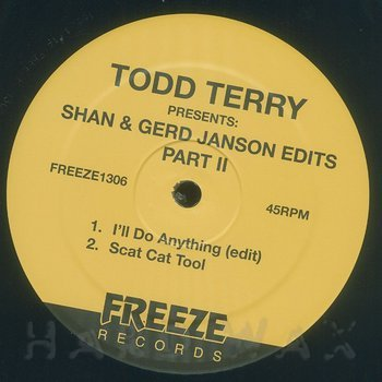 Cover art - Todd Terry: Presents: Shan & Gerd Janson Edits vol. 2