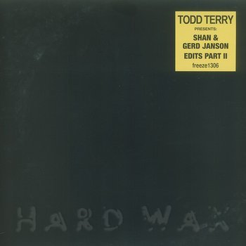 Cover art - Todd Terry: Presents: Shan & Gerd Janson Edits vol. 2
