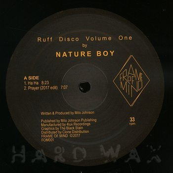 Cover art - Nature Boy: Ruff Disco Volume One
