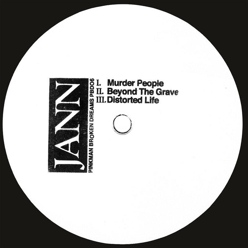 Cover art - Jann: Murder People