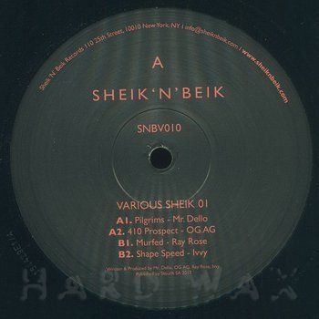 Cover art - Various Artists: Various Sheik 01