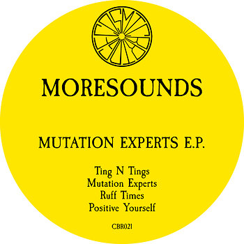 Cover art - Moresounds: Mutation Experts EP