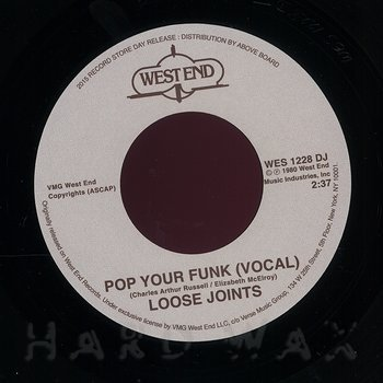Cover art - Loose Joints: Pop Your Funk