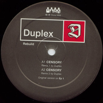 Cover art - Duplex: Rebuild
