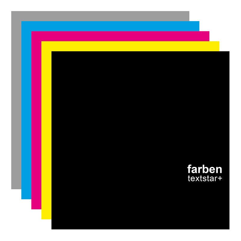 Cover art - Farben: Textstar