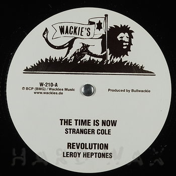 Cover art - Stranger Cole: The Time Is Now