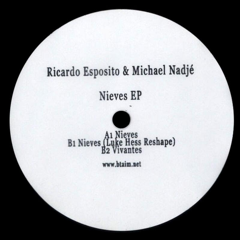 Cover art - Ricardo Esposito & Michael Nadjé: Nieves EP
