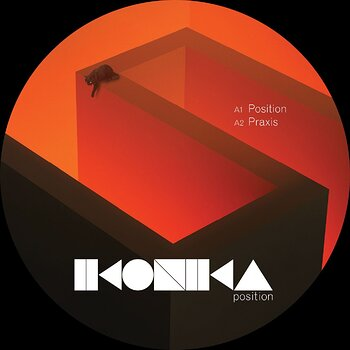 Cover art - Ikonika: Position EP