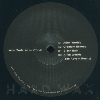 Cover art - Woo York: Alien Worlds EP