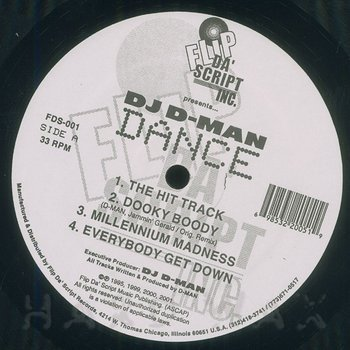 Cover art - DJ D-Man: Dance