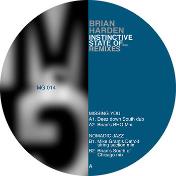 Cover art - Brian Harden: Instinctive States Of...Remixes