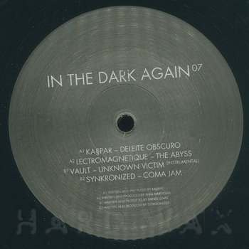 Cover art - Various Artists: In The Dark Again 7