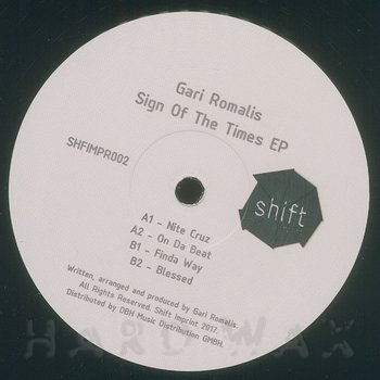 Cover art - Gari Romalis: Sign Of The Time EP