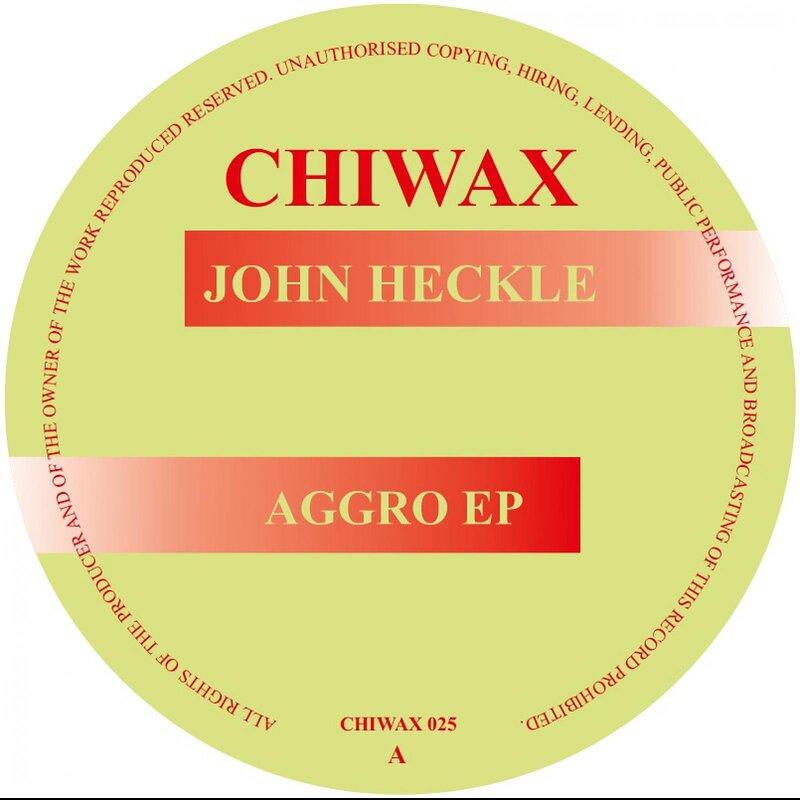 Cover art - John Heckle: Aggro EP