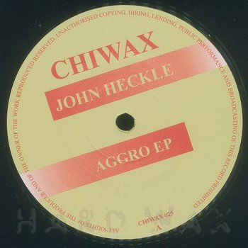 Cover art - John Heckle: Aggro EP