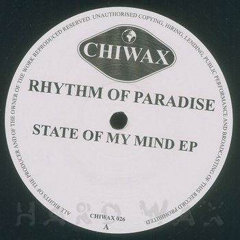 Cover art - Rhythm Of Paradise: State Of My Mind EP