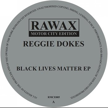 Cover art - Reggie Dokes: Black Lives Matter EP