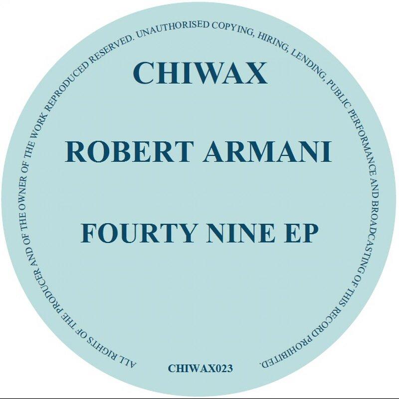 Cover art - Robert Armani: Fourty Nine EP