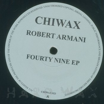 Cover art - Robert Armani: Fourty Nine EP