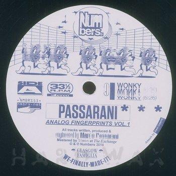Cover art - Passarani: Analog Fingerprints Vol.1