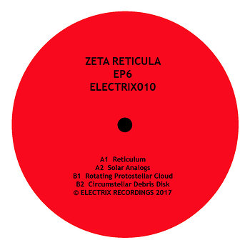 Cover art - Zeta Reticula: EP 6