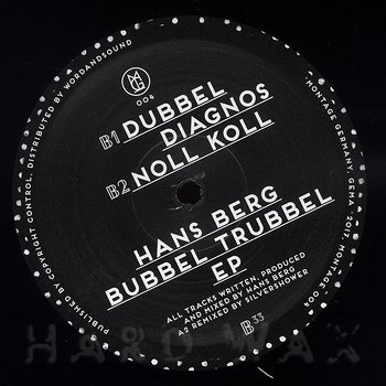 Cover art - Hans Berg: Bubbel Trubbel EP