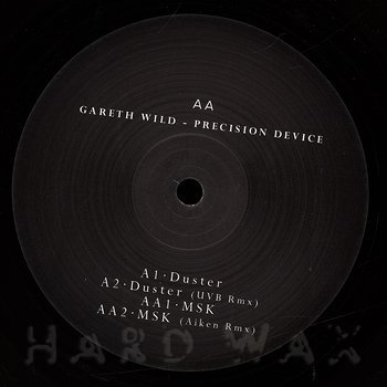 Cover art - Gareth Wild: Precision Device