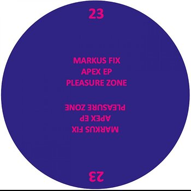 Cover art - Markus Fix: Apex EP