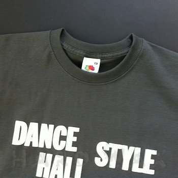 Cover art - Short Sleeve, Size L: Dance Hall Style, light graphite