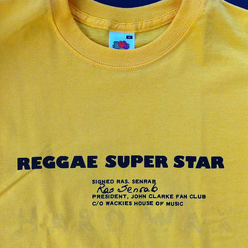 Cover art - Short Sleeve, Size M: Reggae Super Star, sunflower