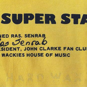 Cover art - Short Sleeve, Size L: Reggae Super Star, sunflower