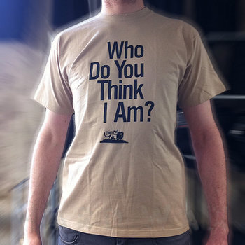 Cover art - Short Sleeve, Size L: Who Do You Think I Am?, sand