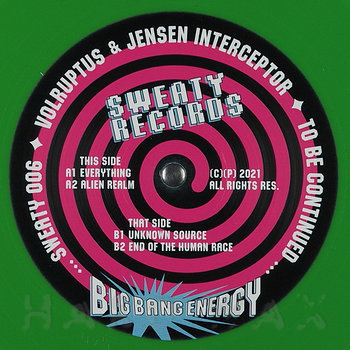 Cover art - Volruptus & Jensen Interceptor: Big Bang Energy