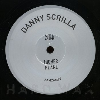 Cover art - Danny Scrilla: Higher Plane