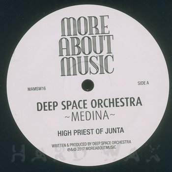 Cover art - Deep Space Orchestra: Medina