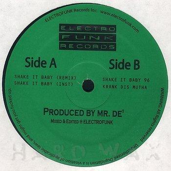 Cover art - Mr. De': Shake It Baby