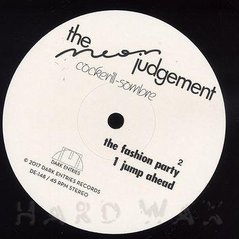 Cover art - The Neon Judgement: Cockerill-Sombre