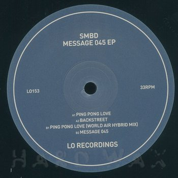Cover art - SMBD: Messages 045 EP