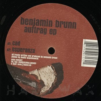 Cover art - Benjamin Brunn: Auftrag EP