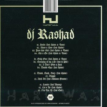 Cover art - DJ Rashad: Double Cup