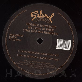 Cover art - Double Exposure: My Love Is Free (Frankie Knuckles Knuckledusted Club Mix)